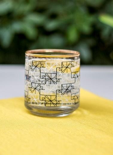 Rakle 260 cc Polygonal Viski & Meşrubat Bardağı Siyah